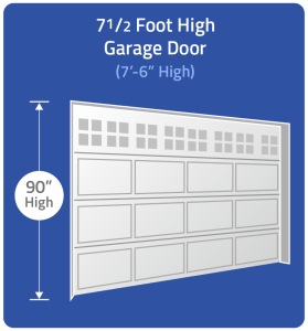 Select 7 1/2 Foot Height