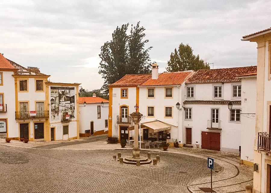 The pretty village of Constancia, Portugal