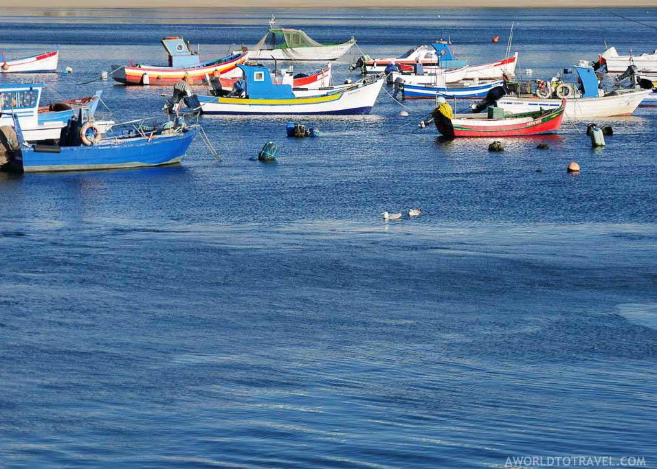 The Sines marina, Portugal