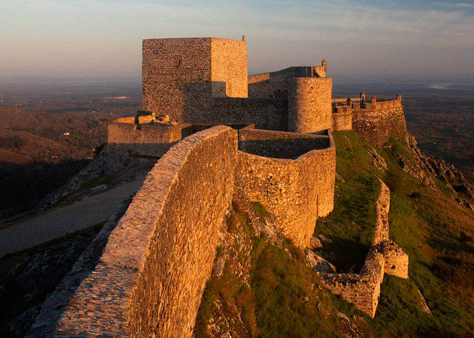 A beautiful view of Marvao Castle