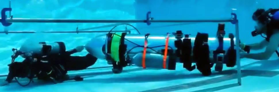 elon musk kid-sized submarine