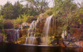 Montello Quarry Waterfalls