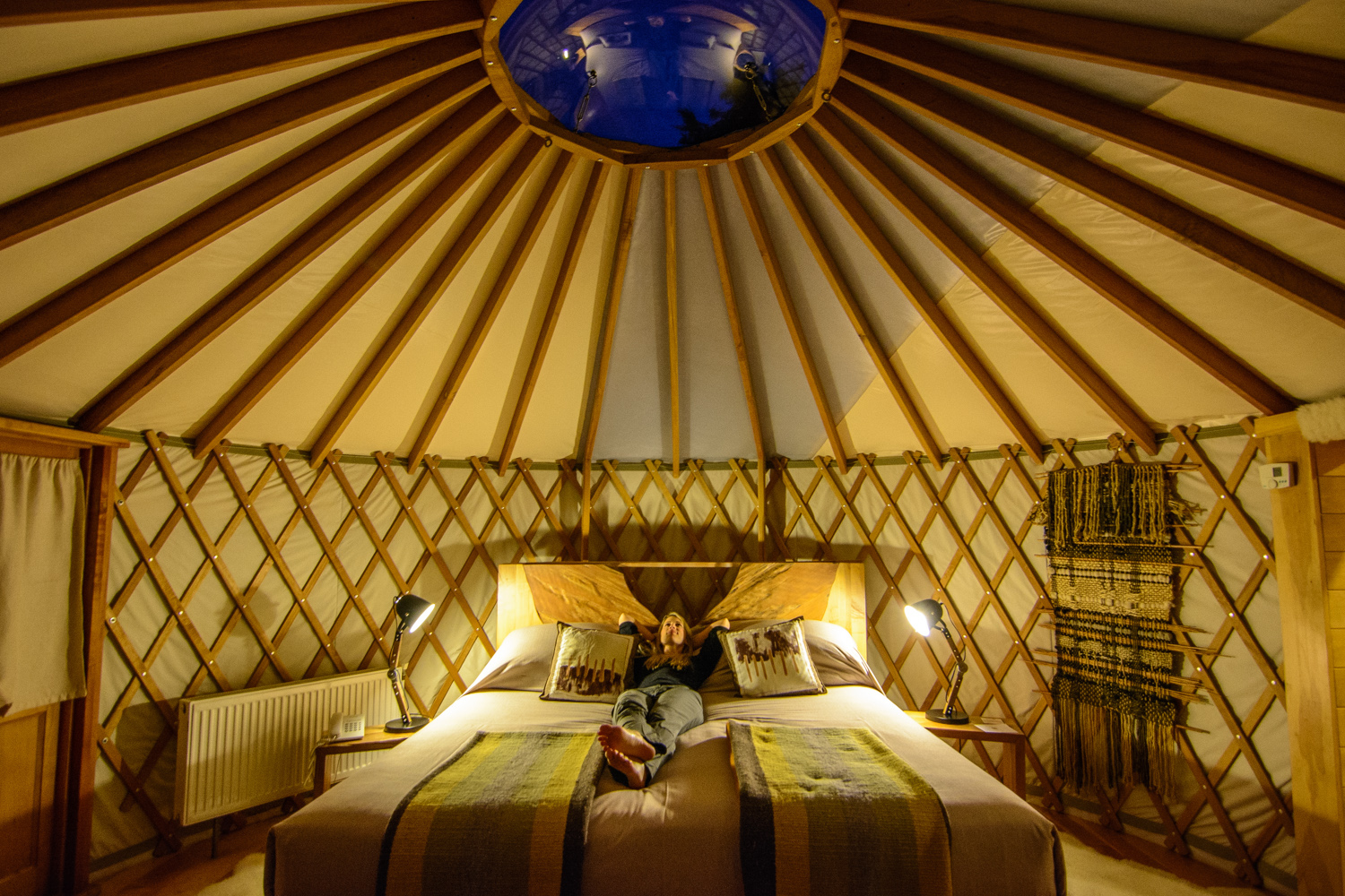 unusual hotel yurt in torres del paine, chile patagonia