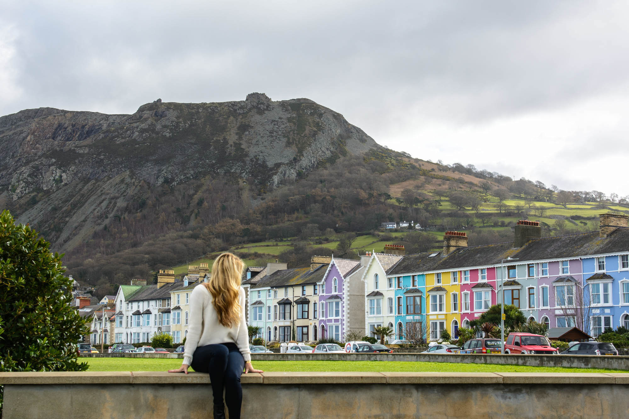 Lesley Murphy traveling in Wales, United Kingdom