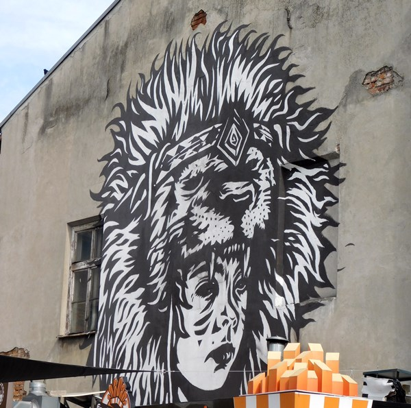 Streetart in Krakau: Judah