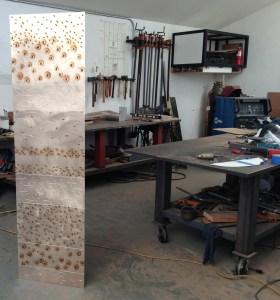 Llisa's sculpture and studio