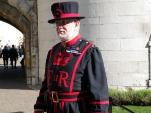 A yeoman warder by day