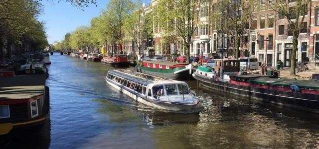 April in Amsterdam