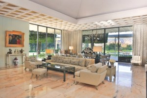 Sunnylands living room
