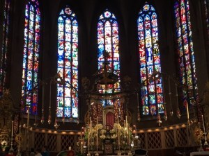Notre Dame altar windows