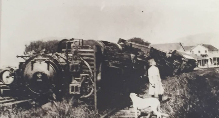 Point Reyes Station in 1906 San Francisco earthquake