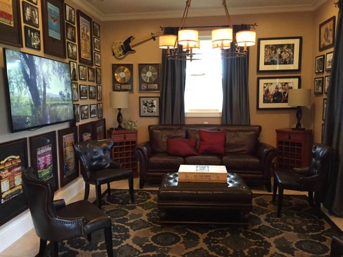 B.R. Cohn memorabilia room