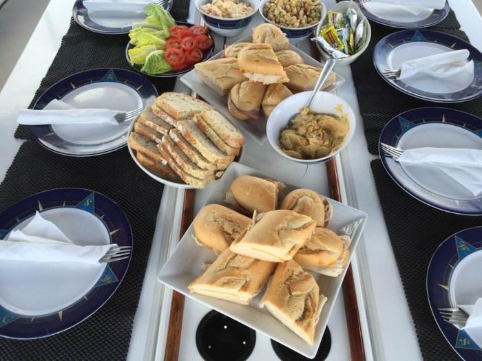 Lunch on Survivan