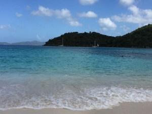 Maho Bay on St. John