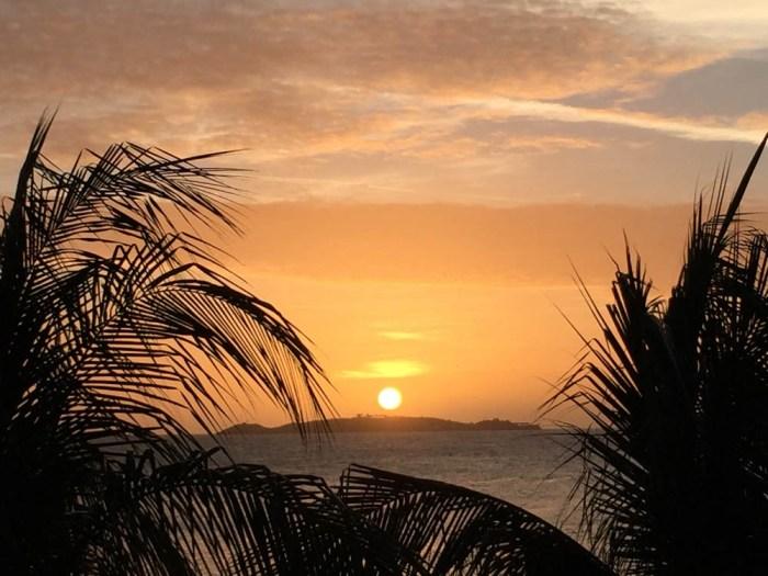 Sunset on St. John