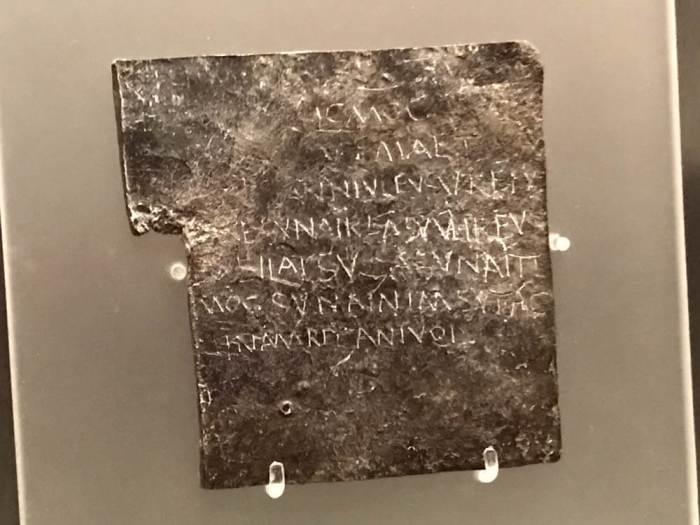 Roman Baths curse in Bath
