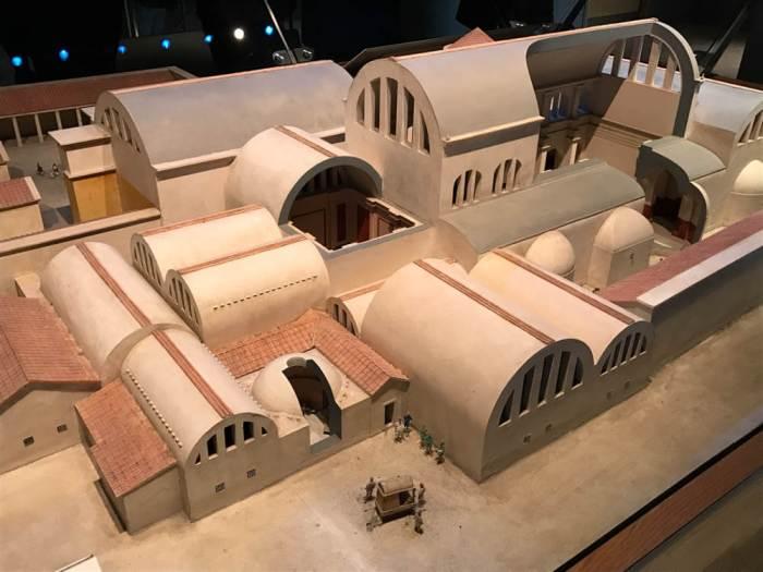 Roman Baths replica