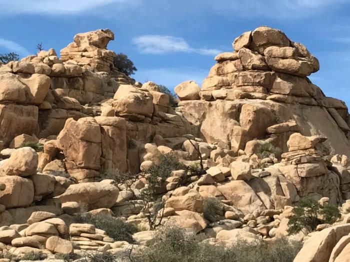 Hidden Valley in Joshua Tree National Park