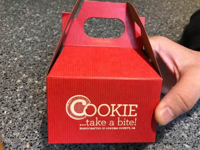 Box of COOKIE...take a bite! cookies