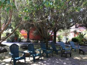 Marconi Historic State Park courtyard