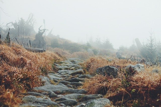 The rocky path to healing