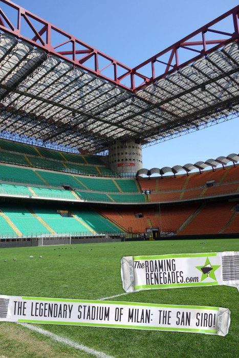 Touring the legendary stadium of AC and INTER Milan: The San Siro! > https://theroamingrenegades.com/2016/04/touring-the-legendary-stadium-of-ac-and-inter-milan-the-san-siro.html