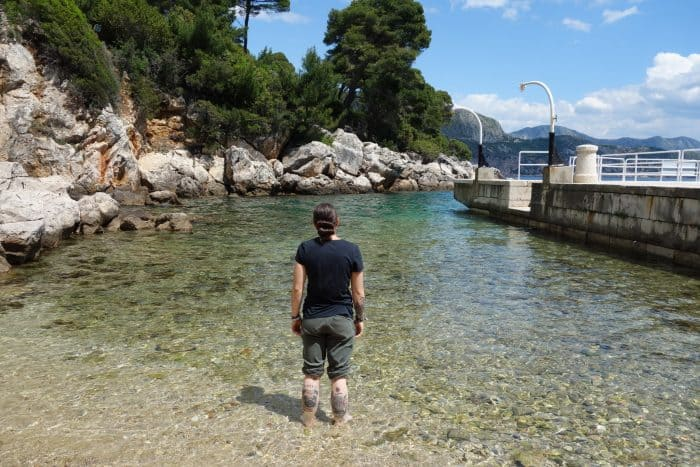 Lokrum island, dubrovnik, croatia, how to get to lokrum, price, ferry, boat, timetable, times, peacocks, wildlife, things to do, nudest beach, forest, things to do in Dubrovnik,