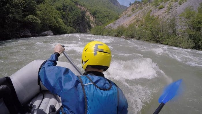 Our wild white water rafting adventure through the Tara Gorge, Montenegro! tara river, things to do in Montenegro, adventure activities, explore, adventure, white water rafing, go pro, balkans, activities to do in montenegro, Kotor