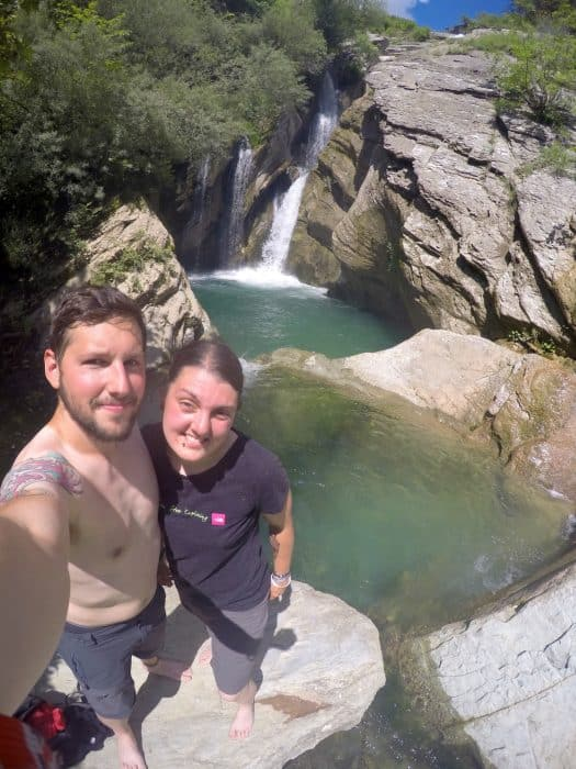 Monthly backpacking round up: Month 2 (kind of). Exploring more off the beaten path balkans! backpacking in the balkans, travelling, traveling, uk to nz, memories, lakes, albania, kosovo, macedonia, things to do, pristina, prizren, Skoje, ohrid, bogove waterfall, tirana, shkoder, berat, matka,