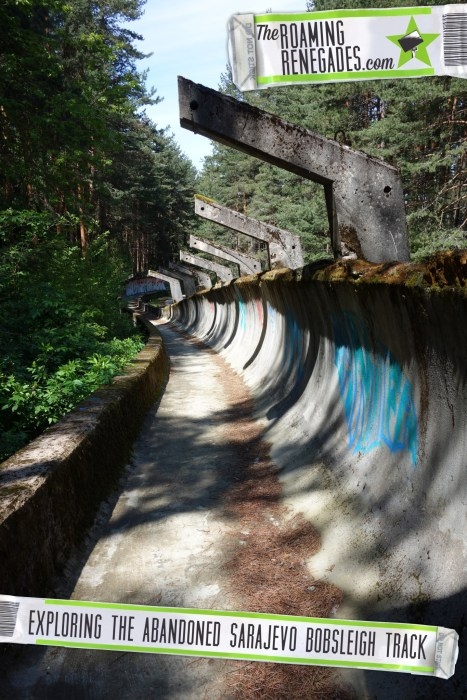 Hiking to the abandoned Sarajevo bobsleigh track from the 1984 Olympics > https://theroamingrenegades.com/2016/07/hiking-abandoned-sarajevo-bobsleigh-track-1984-olymplics.html