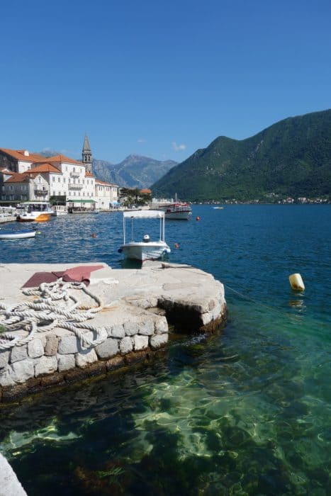 Perast: The beautiful village and its floating churches set in the fjord of the kotor bay, montenegro, balkans, yugoslavia, former yugoslavia, church of the rocks, Our Lady of the rocks. The St. George island, floating islands, views, things to do, day trips from kotor, dubrovnik,