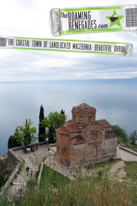 A guide to the coastal town of landlocked Macedonia: Beautiful Ohrid!St John at Kaneo , old town, ottoman, swimming, Samuels fortress, St. Sophia's cathedral, theatre, St. Naum, ferry, lake ohrid, albania, explore, beach, fun, summer,