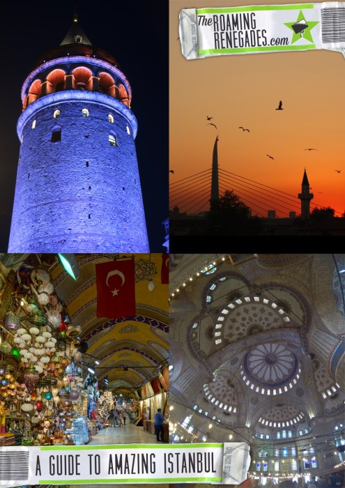 A guide to Istanbul: The energetic & historic city that sits on two continents! > https://theroamingrenegades.com/2016/09/guide-istanbul-two-continents.html