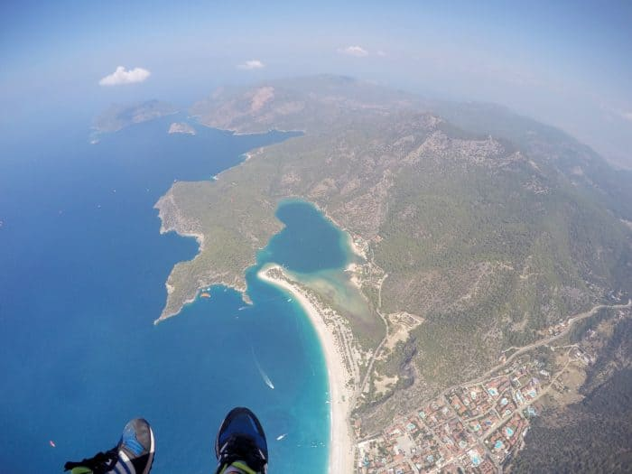 Paragliding off Babadag Mountain and landing on the stunning Blue Lagoon Beach, Turkey! Paraglide, Oludeniz, hisaronu, fethiye, turkey, turkiye, extreme sports, blue lagoon, beach, holiday, things to do, is it safe, activities, thompson, thomas cook, travel, backpacking, adrenaline, Go Pro, GoPro, Sony Action Cam, Nic hilditch-Short, Nicola Hilditch, Paul Short,