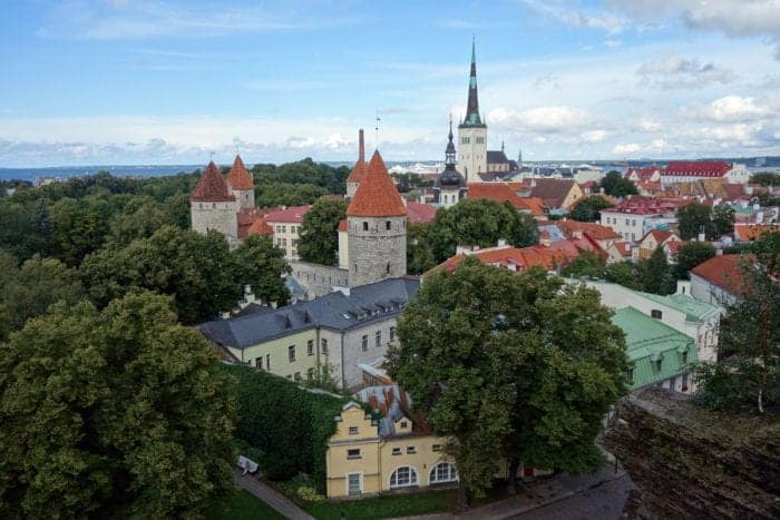 Toompea hill, A guide to fairytale Tallinn, Estonia. The surprisingly Scandinavia Baltic capital, Alexander Nevsky Cathedral, Virgin's tower, Old City walls, Old Town, St Olaf's church, Tallinn town hall, occupation museum, kgb, soviet monuments, lenin, stalin, Helsinki, ferry, day trip, price, how to, things to do, things to see, must do, top thing,