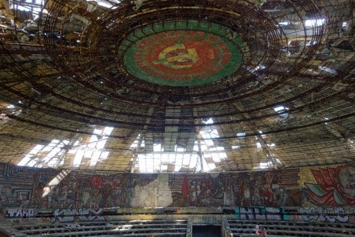 The most eerie, impressive and moving abandoned places to explore in Europe, Eastern Europe, Chernobyl, Pripyat, Soviet, Communist, Balkans, Balkan war, old bobsleigh track, 1984 winter olympics, Sarajevo, Bosnia, Bosnian war, bosnia and herzegovina, serbia, croatia, Mostar, Sniper Tower, Urbex, Urban Exploring, Urban Exploration, place hacking, Bulgarian Communist headquarters, Buzludzka, bulgaria, Victoria Arches, Manchester Arches, how to visit, where is, entrance, getting in,