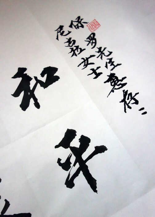 Chinese calligraphy, writing, hand painted, art,