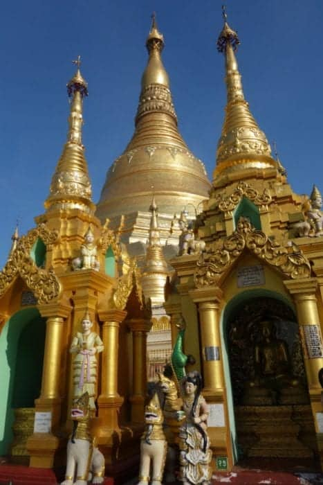 Strolling around the awe inspiring Shwedagon pagoda, Yangon, Myanmar, Burma, shwedagon paya, Bagan, Inle, Buddhism, monk, What to wear at the Shwedagon pagoda, cost, Burma tours,