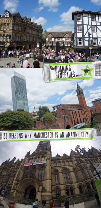 23 reasons why you should visit MANCHESTER when you come to the UK (Our hometown we could not be more proud of!)