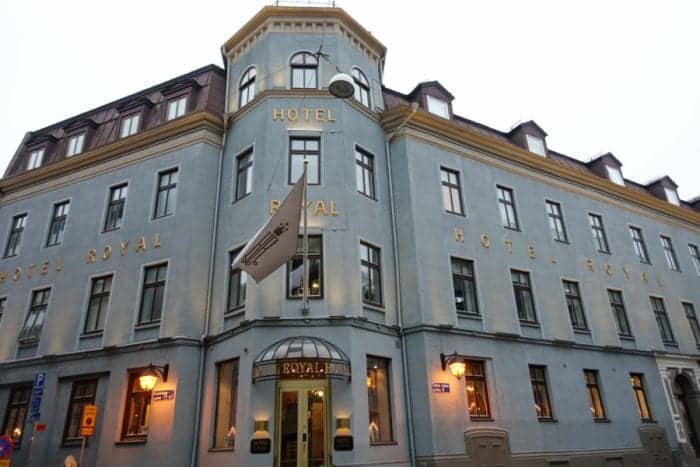 Staying in the oldest hotel in Gothenburg, Sweden: The beautiful Hotel Royal