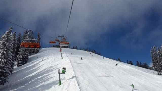 ski holiday in France