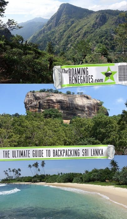 The ultimate guide for backpacking Sri Lanka: Exploring this beautifully diverse country on a budget > https://theroamingrenegades.com/2018/10/guide-backpacking-sri-lanka-itinerary.html