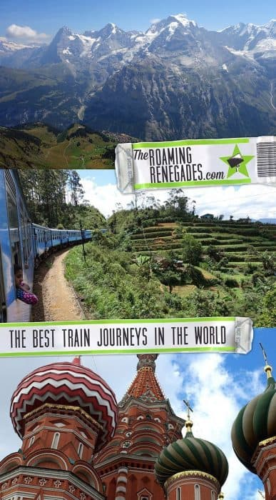 Great scenic railway journeys around the world, railway travel, adventure, best train journeys in the world, Russia, Trans Siberian, Switzerland, Jungfrau, Sri Lanka, Ella to Kandy, Moscow, Vietnam, New Zealand, Trans Alpine,
