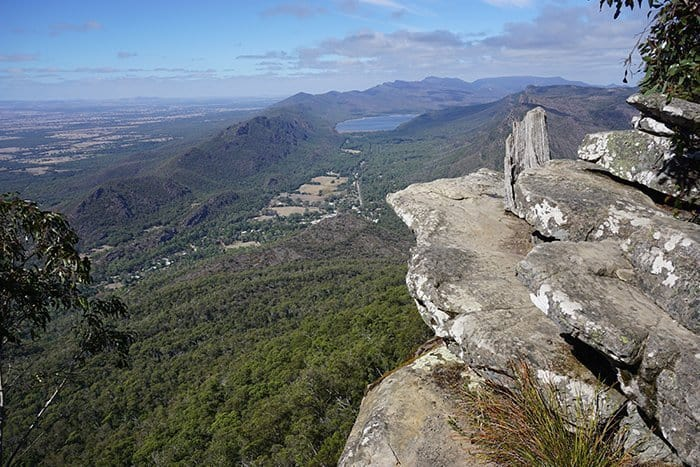 Melbourne 5 day itinerary: best places to visit in Melbourne. The Grampians lookout.