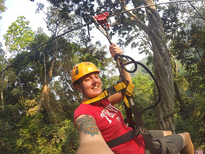 The Best Adventurous Things To Do in Thailand For Backpackers, Flight of the Gibbon, Zipline, Chiang Mai, Phuket,