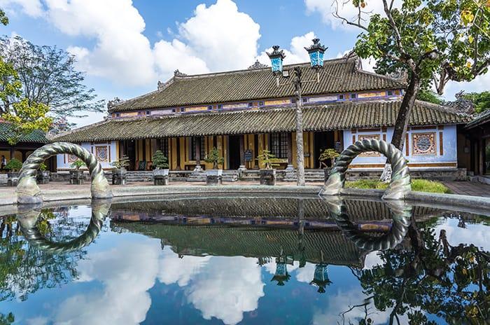 The citadel in Hue. 3 weeks in Vietnam, Vietnam itinerary: 3 weeks, 3 week Vietnam itinerary
