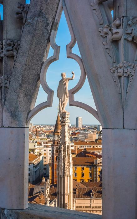 View from the roof of the milan duomo, (Milan 2 days, Two days in Milan, Milan in 2 days, What to do in Milan for 2 days, 2 days in Milan, 2 days in Milan itinerary, Milan itinerary 2 days, Milan city break, A weekend in Milan, How many days in Milan)
