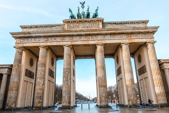 The Brandenburg Gate (2 days in Berlin, Things to do in Berlin, 2 days in Berlin itinerary, Berlin 2 days itinerary, Berlin in two days, 48 hours in Berlin itinerary, What to do in Berlin in 2 days, Berlin 2 days, Things to do in Berlin, backpacking Berlin, cheap, budget Berlin, Germany)