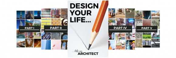 the Design Your Life: Like an Architect course-book is a 76 page pdf document with step-by-step instructions and exercises to help you create the life of your dreams!
