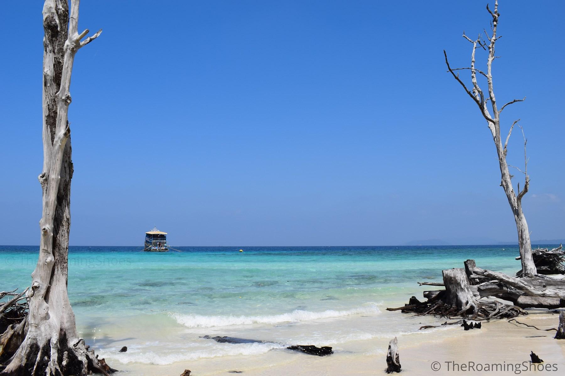 Elephant beach, Andaman